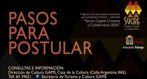 Alcaldía de Sucre invertirá Bs 600.000 del IDH para proyectos culturales
