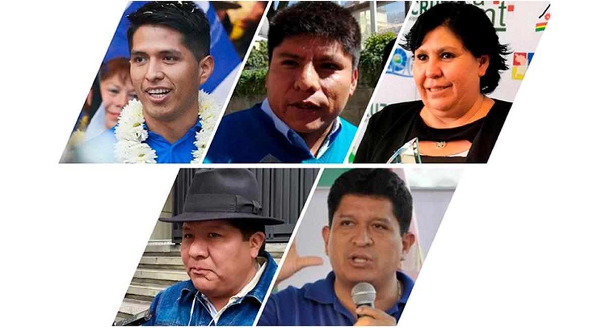 Integrantes de la Cámara de Senadores del MAS. Foto: ABI