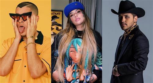 Bad Bunny, Karol G y Christian Nodal actuarán en los Latin Grammy 2020