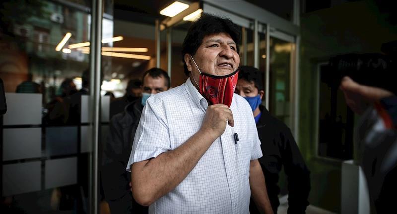 El expresidente de Bolivia, Evo Morales. Foto: EFE