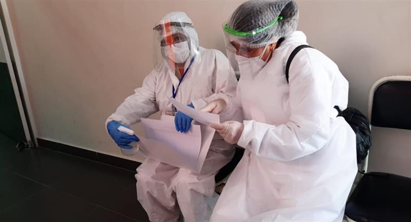 Se redujeron en 10 los municipio con riesgo alto de contagio por coronavirus. Foto: ABI