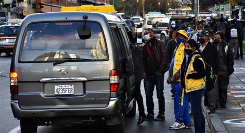 En La Paz regirá una restricción vehicular como la que se tenía antes de la cuarentena