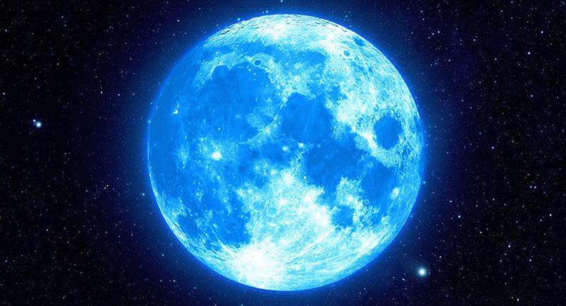 Tres curiosidades de la 'Luna Azul' de este 31 de octubre