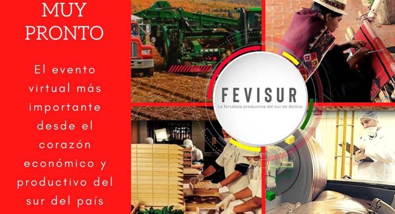 Lanzan la primera Feria Virtual del Sur (Fevisur). Foto: Facebook Bloque Empresarial Del Sur De Bolivia
