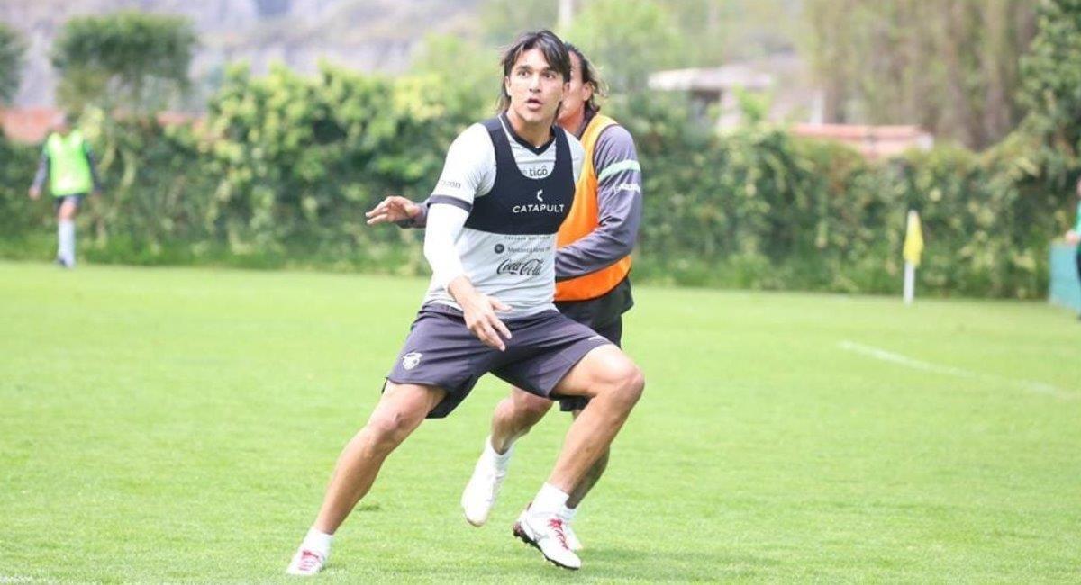 Marcelo Martins, uno de los jugadores bolivianos que juegan en el extranjero. Foto: Twitter @laverde_fbf