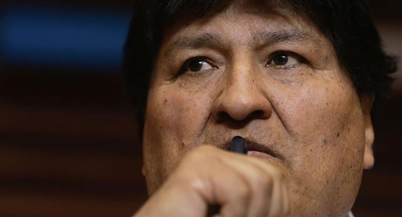 Expresidente de Bolivia Evo Morales. Foto: EFE