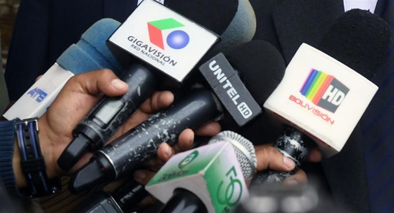 """Periodistas de Bolivia denuncian una """"lista de odio"""". Foto: ABI"""