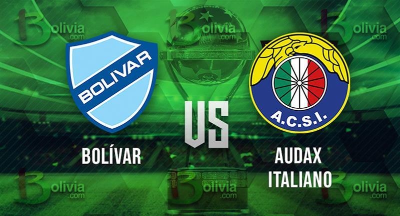 Partido Bolívar vs Audax Italiano. Foto: Interlatin
