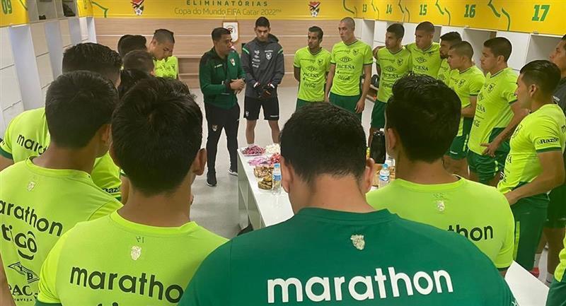 El listado se completa con un jugador del Nacional Potosí, uno del Oriente Petrolero y otro del Royal Pari. Foto: Twitter @laverde_fbf