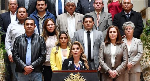 La Presidenta Jeanine Áñez resalta cuatro logros del Gobierno en su mensaje de despedida