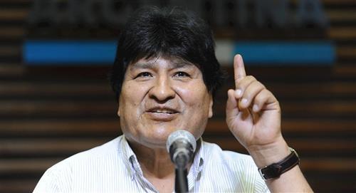 """Evo Morales: """"La derrota de Trump es la derrota de las políticas fascistas"""""""