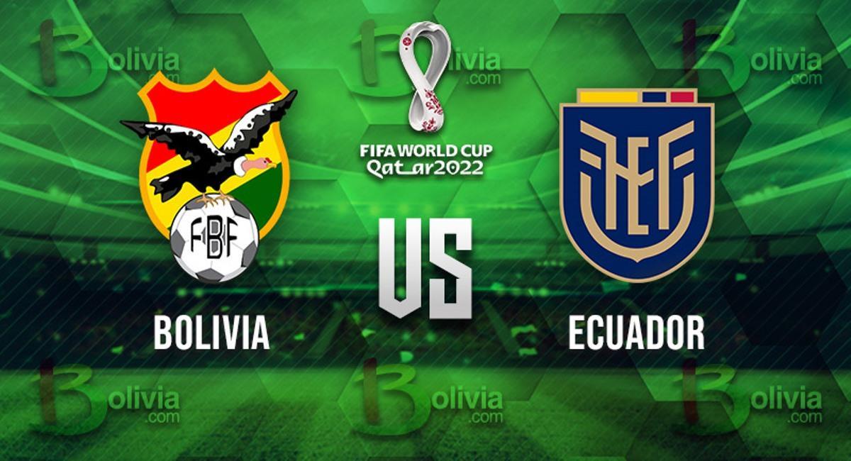 Partido Bolivia vs Ecuador. Foto: Bolivia.com