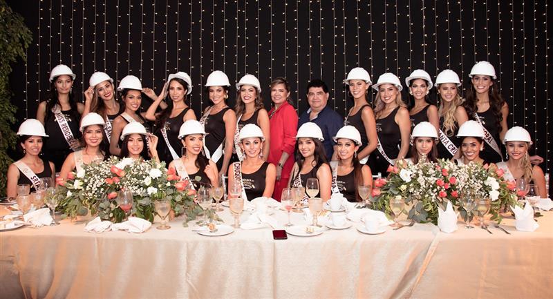 Candidatas al Miss Bolivia 2020. Foto: Facebook Promociones Gloria