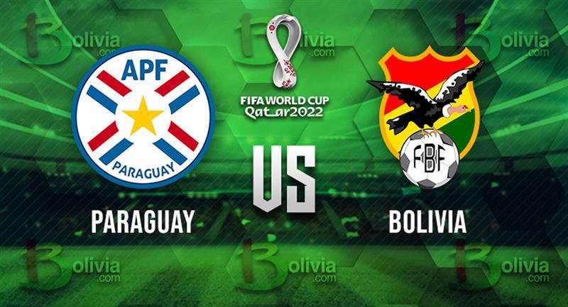 Partido Paraguay vs Bolivia. Foto: Bolivia.com