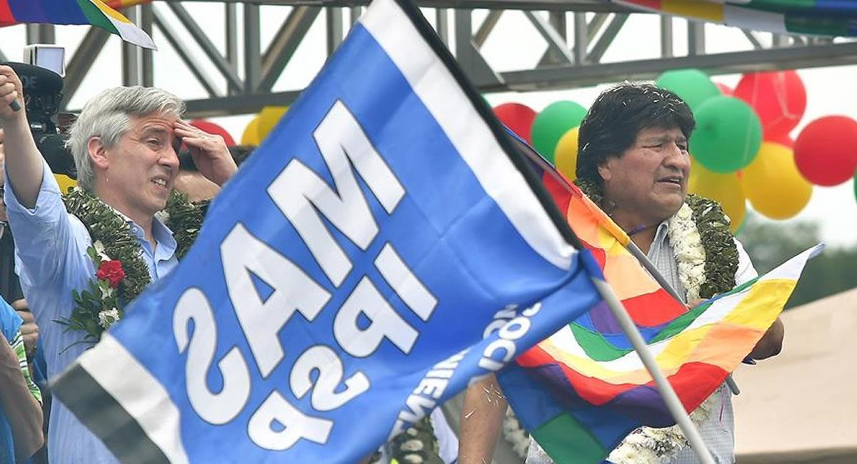 Exmandatario boliviano Evo Morales. Foto: EFE