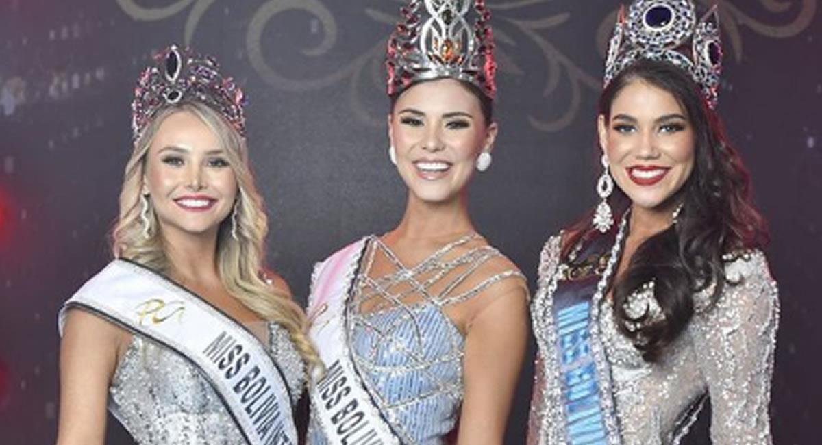 Miss Bolivia Internacional, Miss Bolivia Universo y Miss Mundo 2020. Foto: Instagram @pgloriaoficial