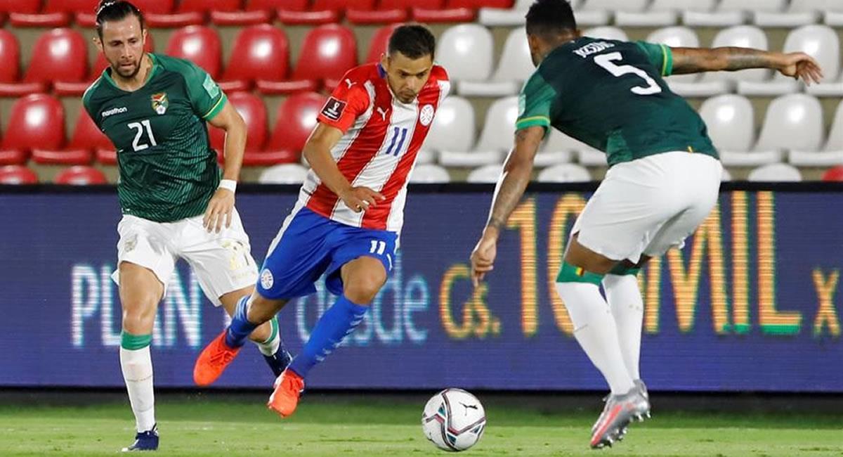 Paraguay igualó 2-2 con una Bolivia que se la puso difícil. Foto: EFE