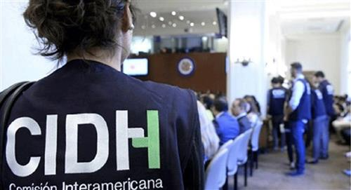 CIDH envía grupo de expertos a investigar violencia de 2019