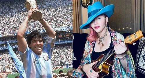 Madonna es tendencia en redes luego de ser confundida con Maradona