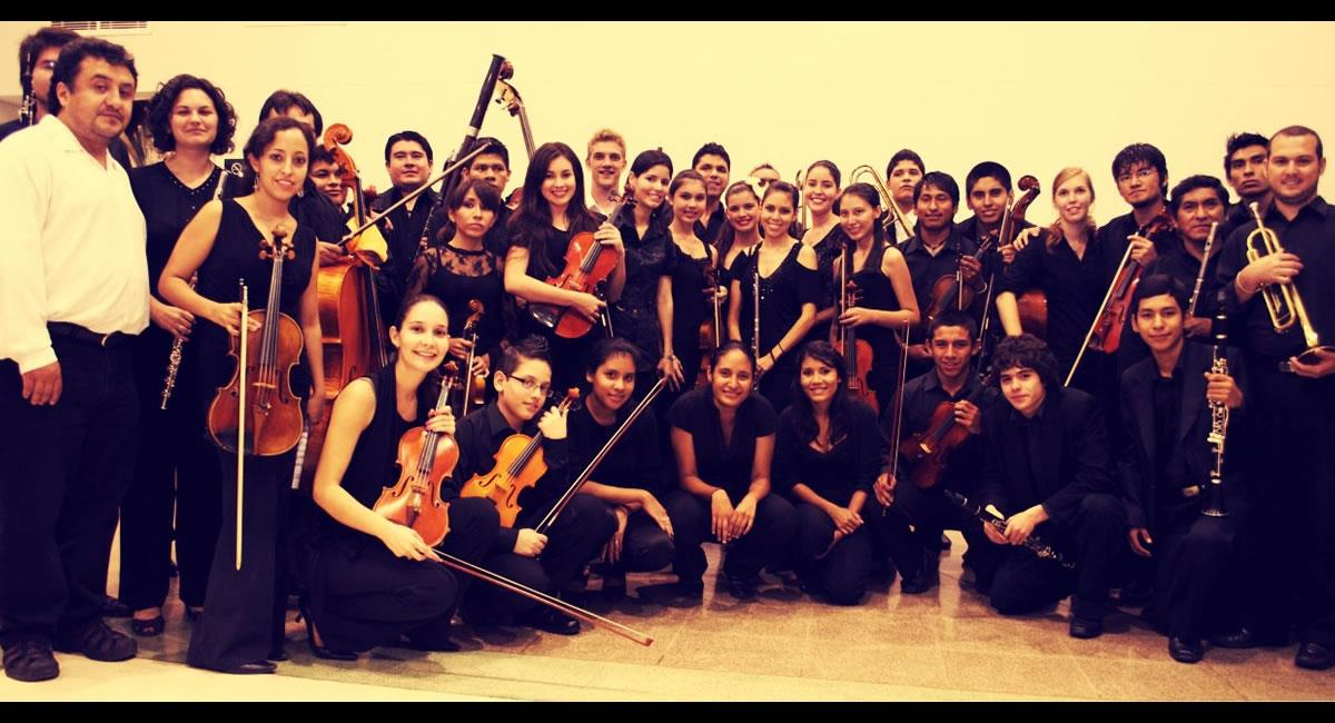 Orquesta Sinfónica Juvenil de Santa Cruz. Foto: Facebook @osjsantacruz