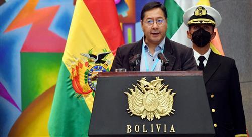 Presidente Arce: Nuestro gobierno será implacable contra la violencia a la mujer
