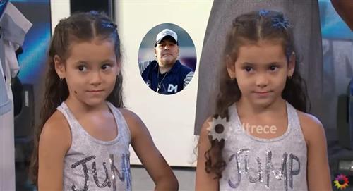 Mara y Dona, las gemelas que fueron bautizadas con el apellido de Diego Armando Maradona