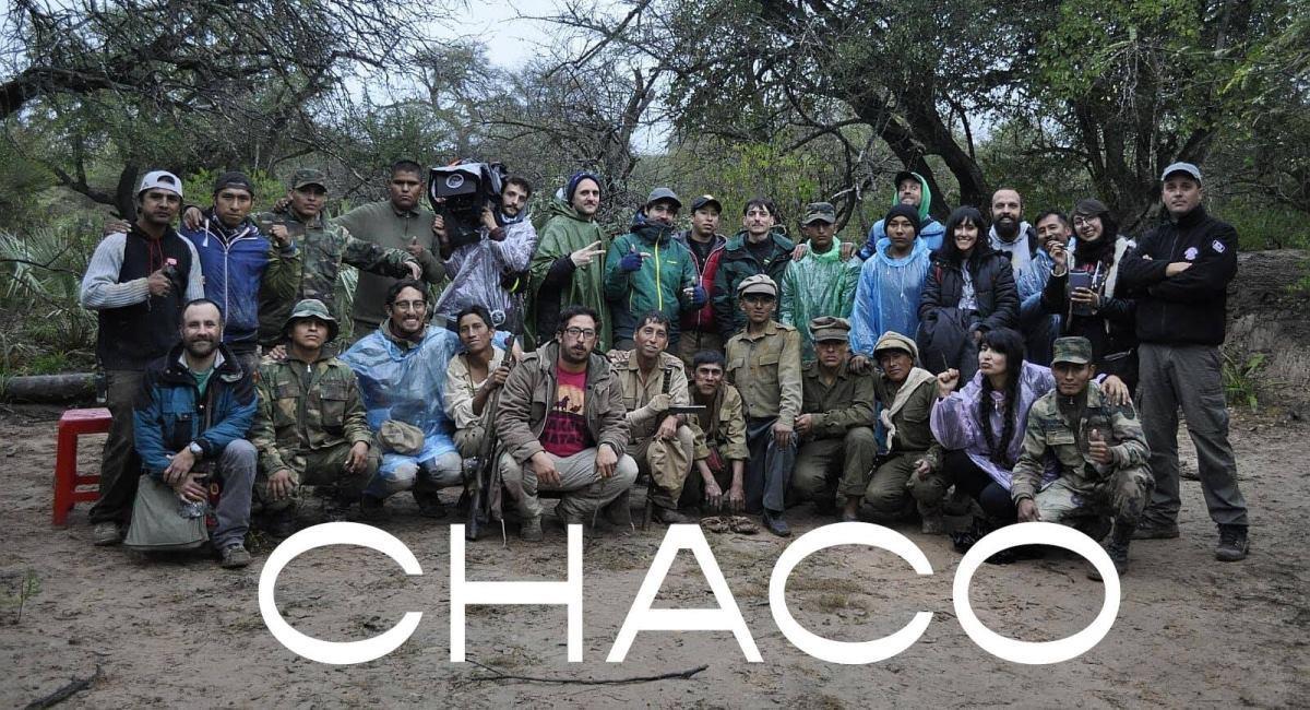 """Equipo de la película """"Chaco"""". Foto: Twitter @DiegoMondacaG"""