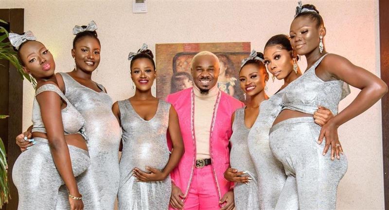 Hombre llegó a una boda con 6 mujeres embarazadas, todas de él