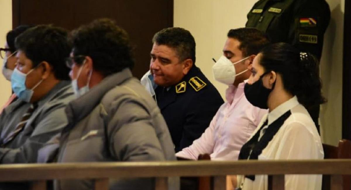 El general es investigado por la muerte de diez civiles por disparos en un operativo militar y policial hace un año en Sacaba. Foto: ABI