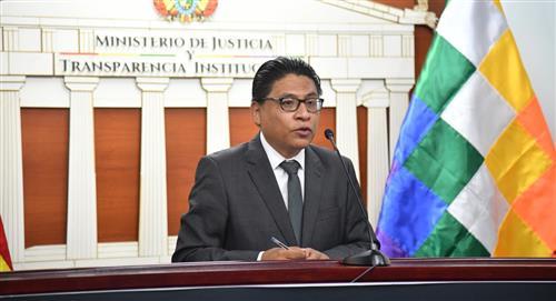Ministro de Justicia formaliza juicio contra consejeros de la Magistratura