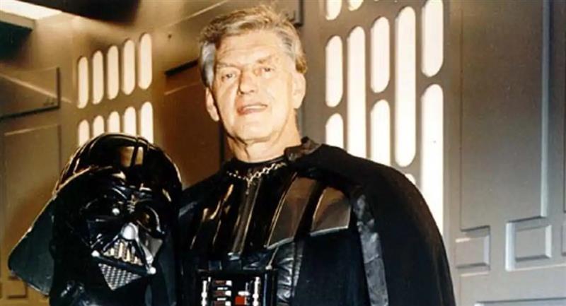 Falleció Dave Prowse, el actor que interpretó a Darth Vader en Star Wars