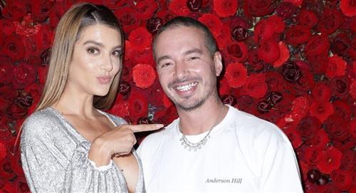 J Balvin y su novia la modelo Valentina Ferrer estarían esperando a su primer hijo