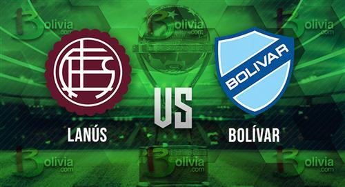 Copa Sudamericana: Se enfrentan Lanús, con la duda de Pepe Sand, y Bolívar con una ventaja