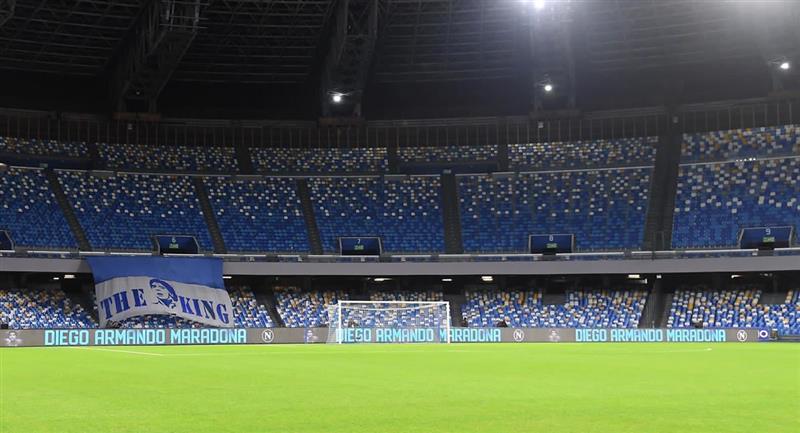 "Estadio ""Diego Armando Maradona"". Foto: Twitter @sscnapoli"