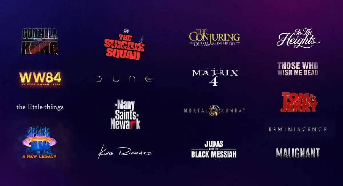 Todos los estrenos de Warner Bros para 2021 llegarán a los cines y a HBO Max. Foto: Twitter @hbomax