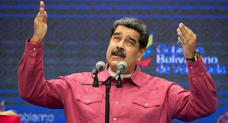 Presidente de Venezuela, Nicolás Maduro. Foto: EFE