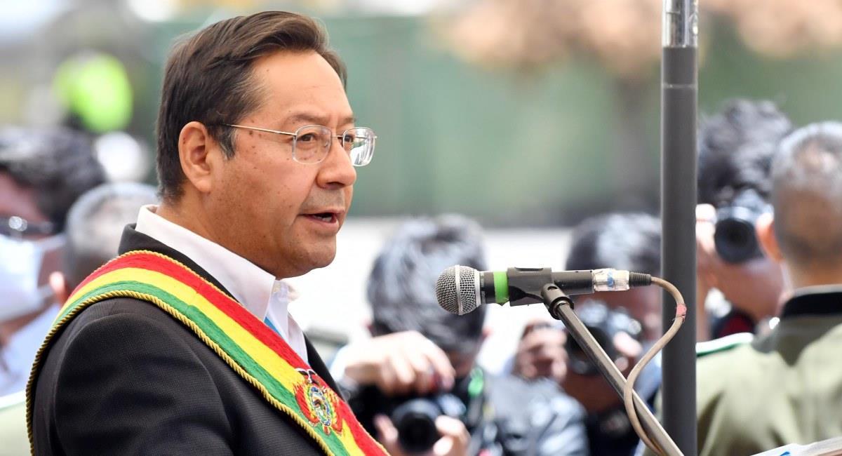 El presidente de Bolivia, Luis Arce. Foto: ABI