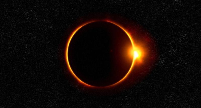 Eclipse solar. Foto: Pixabay