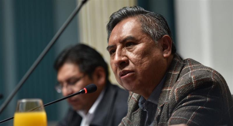El canciller de Bolivia, Rogelio Mayta. Foto: ABI