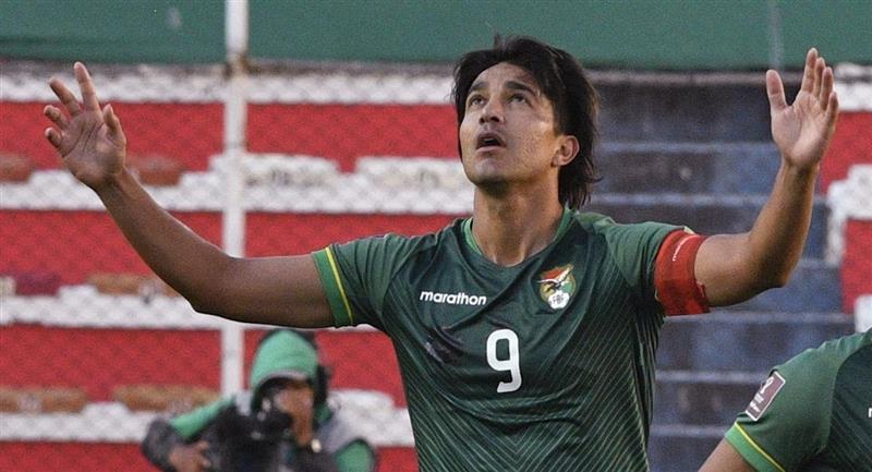El delantero boliviana Marcelo Martins. Foto: EFE
