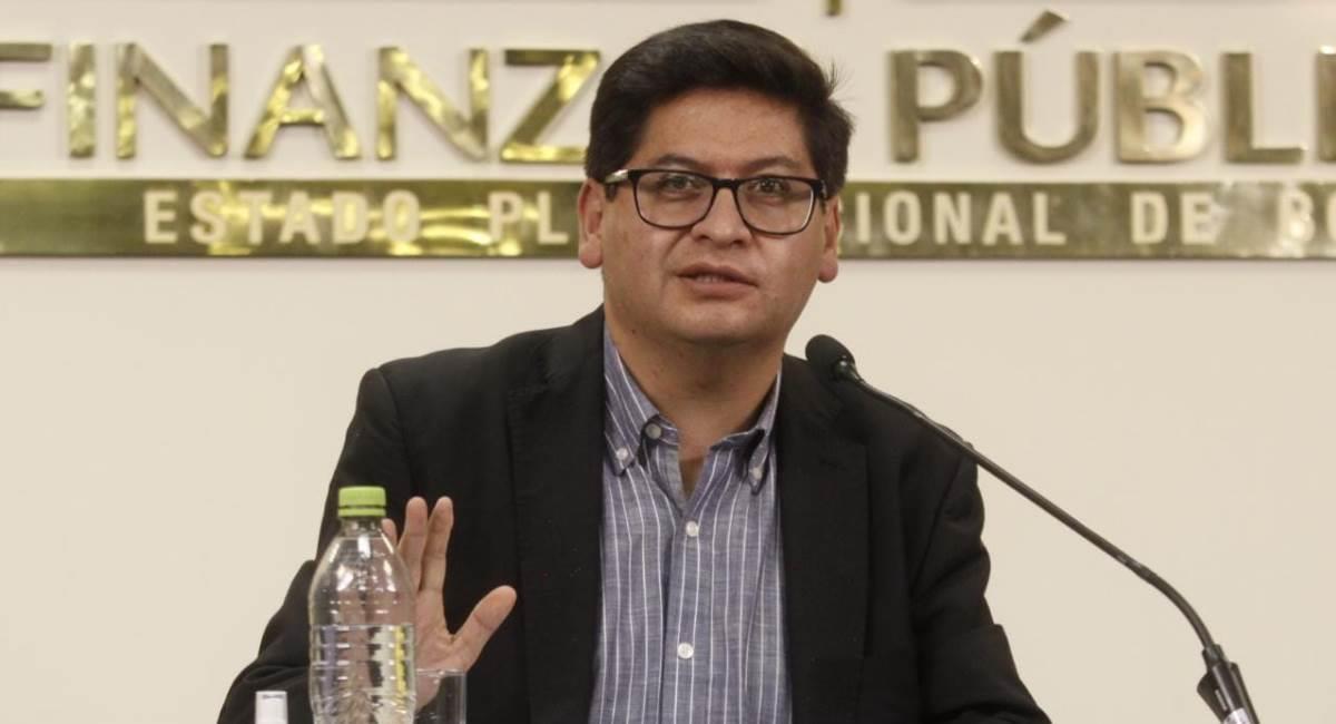 El ministro de Economía, Marcelo Montenegro. Foto: ABI