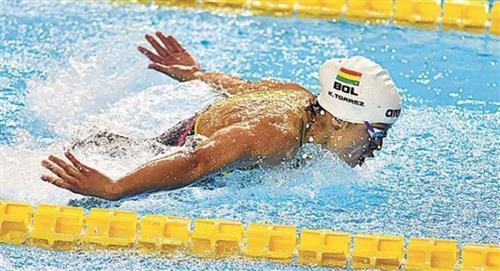 Bolivia obtiene siete medallas de oro en campeonato de natación de Paraguay