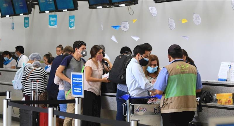 Bolivia restringe ingreso de pasajeros desde Europa. Foto: EFE
