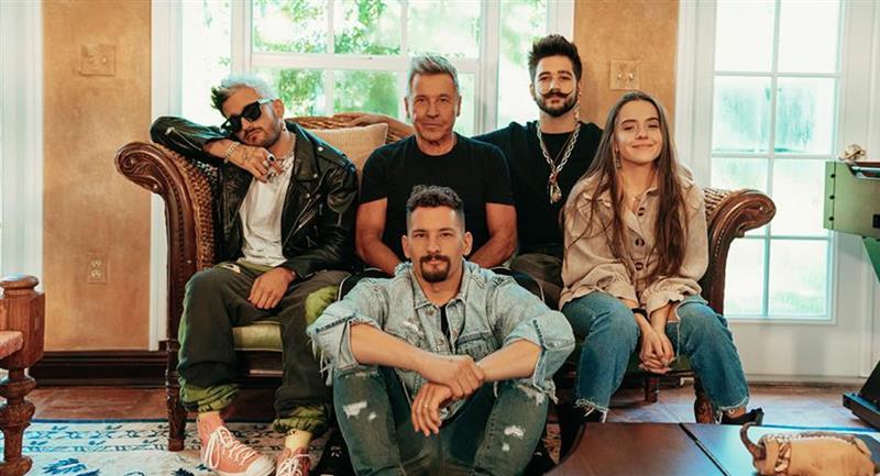 La familia Montaner. Foto: EFE