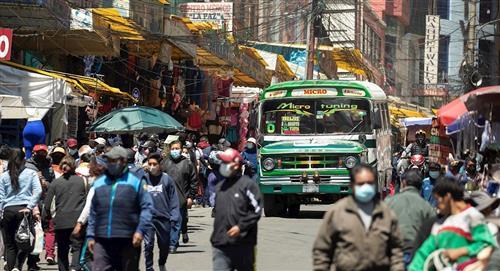 La Paz, Cochabamba y Santa Cruz presentan riesgo alto de contagio de COVID-19
