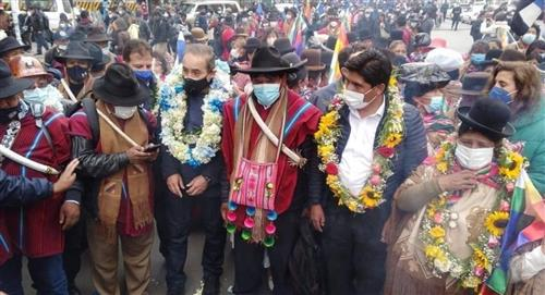 La presencia indígena se impone en la carrera electoral hacia la Gobernación de La Paz