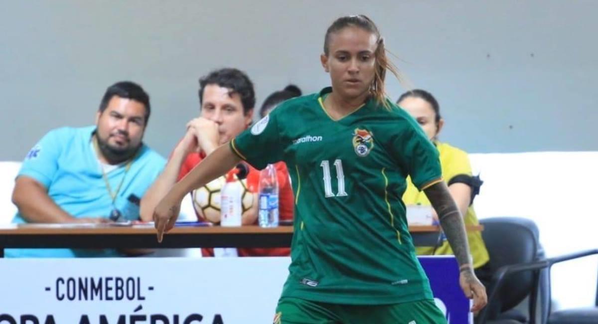 """La jugadora """"Coquito"""" Gálvez. Foto: Facebook Cokito Galvez Talavera"""