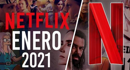 Estrenos de Netflix para enero del 2021