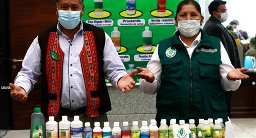 Gobierno lanza ferias 'Unidos contra el COVID-19' de producción nacional y medicina tradicional