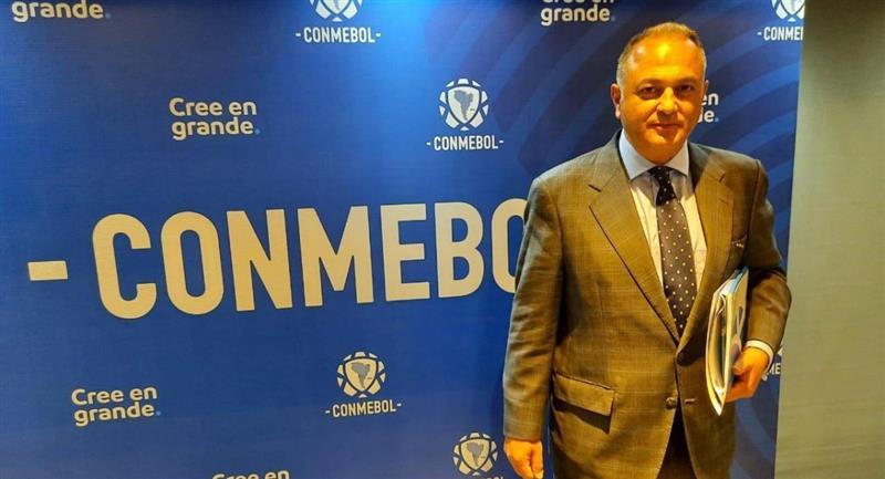 El presidente de la FBF Fernando Costa. Foto: Twitter @FBF_BO